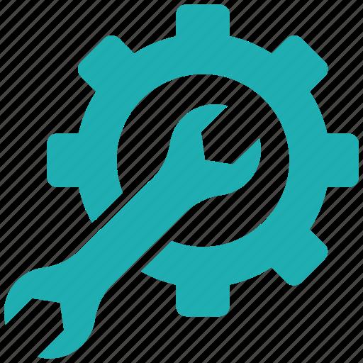 development tool, gear, maintenance icon