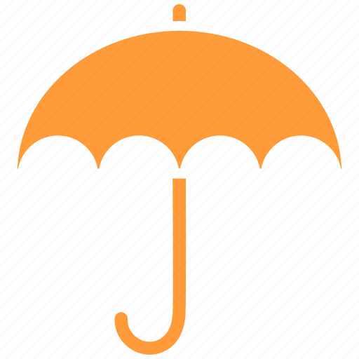 protection, safe, umbrella insurance icon