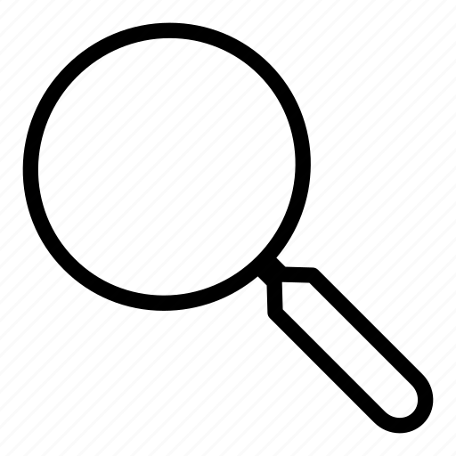 find, glass, interface, magnifying, search, searching icon
