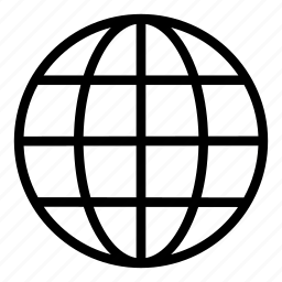 circular grid, earth grid, globe grid, internet, round grid, world grid icon