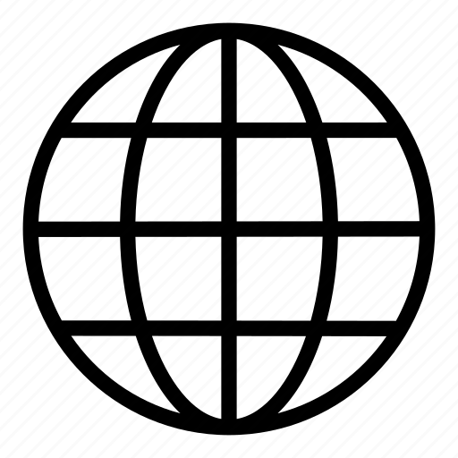 Circular Grid, Earth Grid, Globe Grid, Internet, Round Grid, World Grid