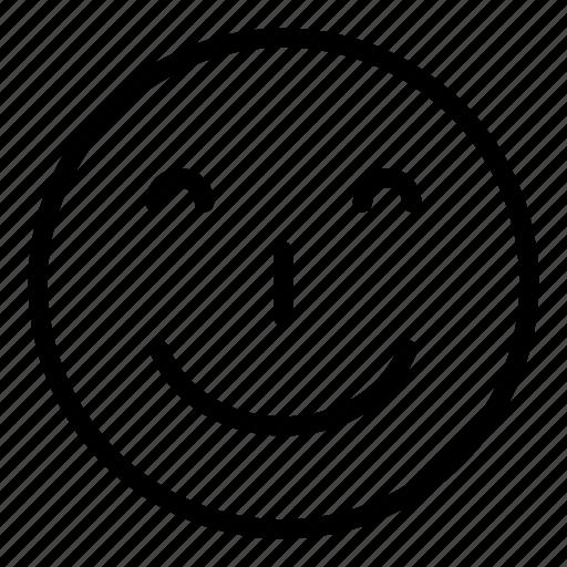 emoticon, emoticons, face, faces, smile, smiley, smilining icon