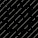 gear, seo, setting icon