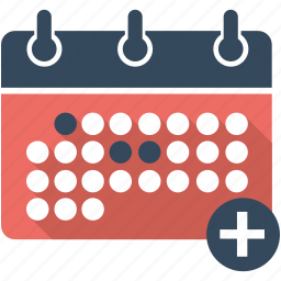 calendar, date, event, flat icon, schedule, seo, time icon