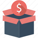 dollar, flat icon, money, pack, seo, service, support icon
