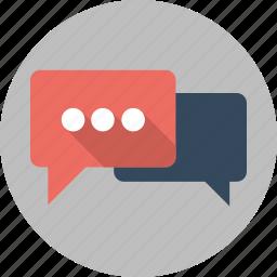 bubble, chat, comment, comments, message, seo, talk icon