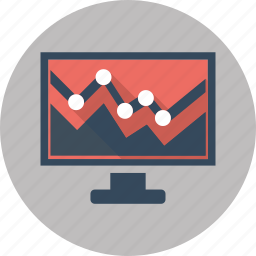 data, diagram, financial, graph, report, seo, statistics icon