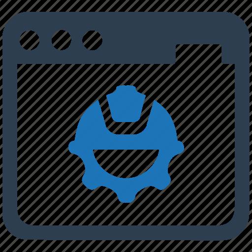 browser, development, optimisation, website icon