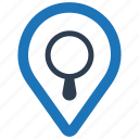 find location, local seo, search map icon