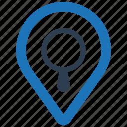 find location, local seo, search map icon