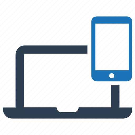 application, devices, responsive design icon