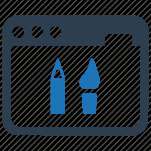 creative, web design, website design icon