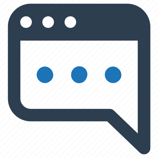 feedback, online comment, web icon