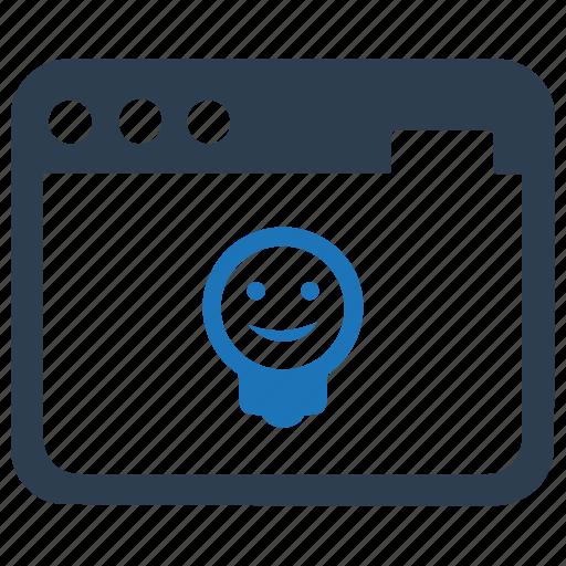 development, innovation, website icon