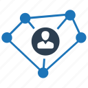 business, business link, connection, connectivity icon