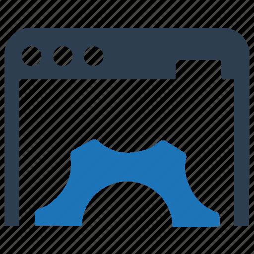 browser, development, optimization, website icon