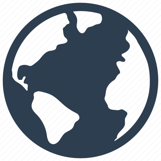 browser, earth, global icon