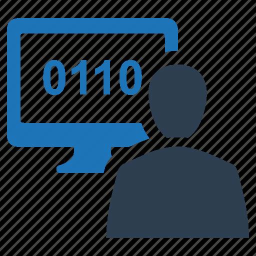 coding, programmer, programming icon