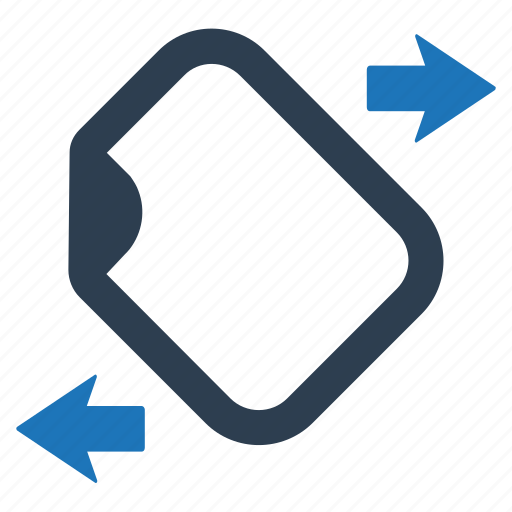 document, file, sharing, transfer icon