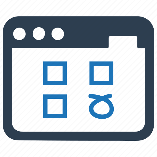 checklist, online questionnaire, survey icon
