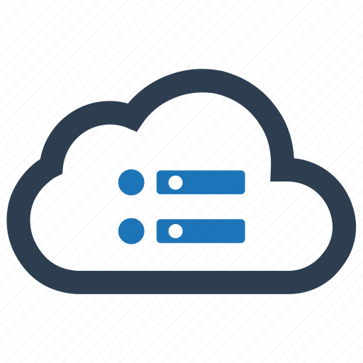 cloud, database, server, storage icon
