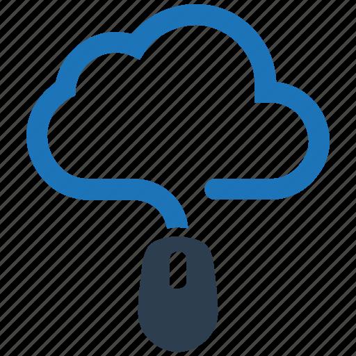 cloud computing, online storage icon