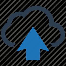 backup, cloud, sharing, storage, upload icon