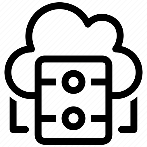 Cloud, server, storage icon - Download on Iconfinder