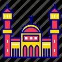 asian, city, cityscape, itaewon mosque, landmark, seoul, travel icon