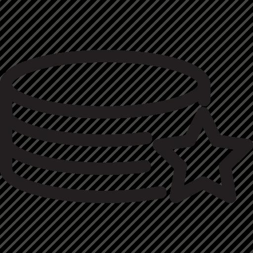 bookmark, favourite, network, server, star icon