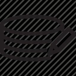 change, edit, network, pen, server icon