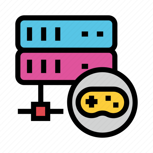 Game, mainframe, play, server, storage icon - Download on Iconfinder