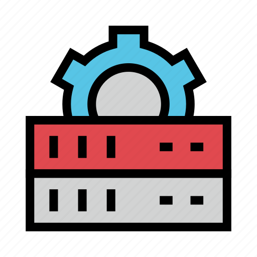 Configuration, mainframe, server, setting, storage icon - Download on Iconfinder
