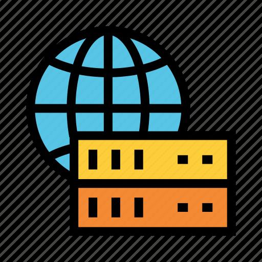 Database, global, server, storage, world icon - Download on Iconfinder