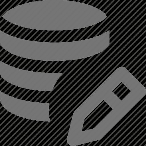 edit, pen, pencil, server icon