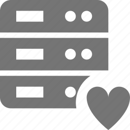 favorite, heart, like, server icon