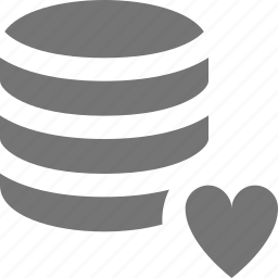 favorite, heart, like, server icon