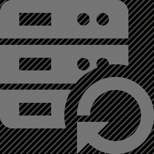 arrow, refresh, reload, server, sync icon
