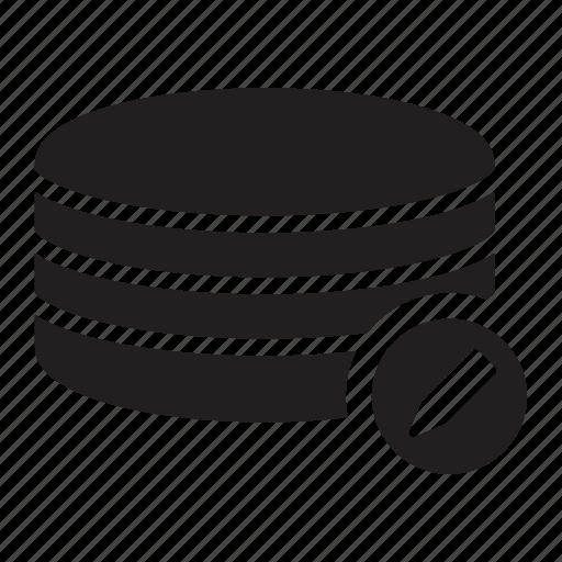 edit, pen, server, technology icon