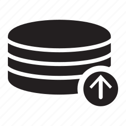 arrow, server, technology, up icon