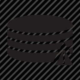 alert, server, technology, warning icon