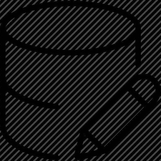 data, database, dbms, edit, ordbms, rdbms, storage icon