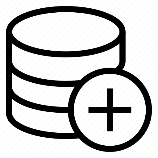 Add, database, plus, server, storage icon - Download on Iconfinder