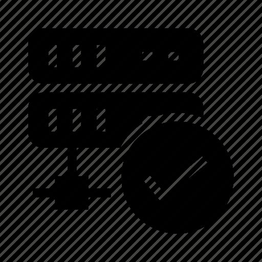 done, network, server, share, storage icon