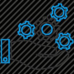 configuration, hardware, management, mechanic, mechanics service, settings, support icon