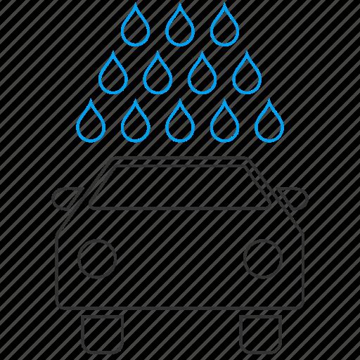 auto, automobile service, car wash, carwash, shower, vehicle, washing icon