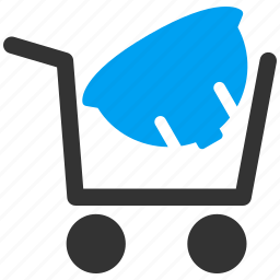 buy, buyer basket, helmet, order, purchase, shopping cart, store icon