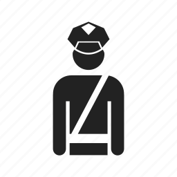 colonel, constable, crime, guard, male, man, officer, people, police, policeman, profile, user icon