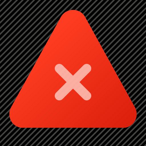 attention, error, indicator icon