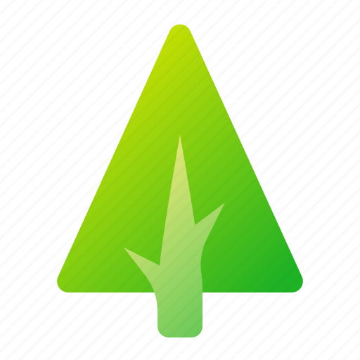 green, nature, tree icon